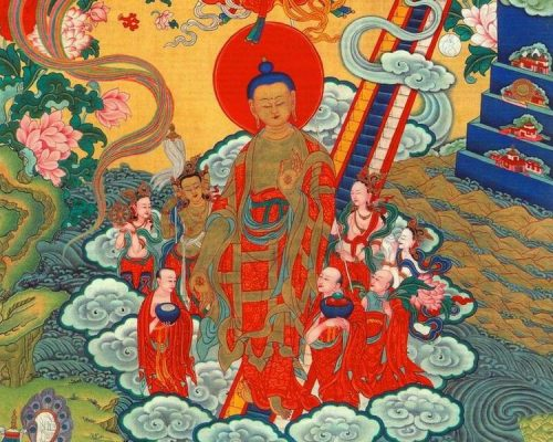 Lhabab Düchen Nov '19~> Buddha's descent from Tushita
