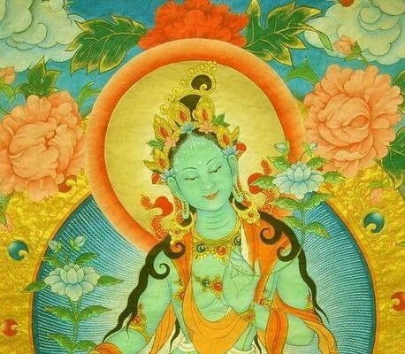 Goddess Tara & the Last Quarter Moon